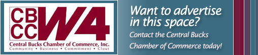 Advertise with the Central Bucks Chamber
